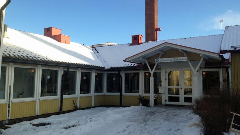 Strömbäcks folkhögskola. Foto: Sveriges Radio