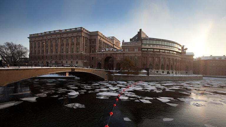 Sveriges Riksdag. Foto Foto: Melker Dahlstrand.