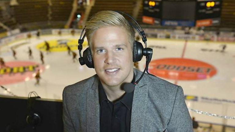 Lars Lindberg har gjort ett sportquiz som kommer finnas tillgängligt på flera håll i landet. Foto: Privat.