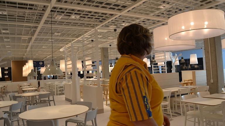 Restaurangen rymmer 500 sittplatser.