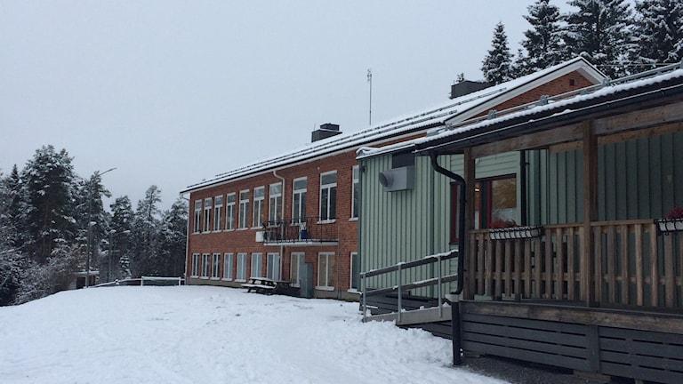 Botsmarks skola. Foto: Lillemor Strömberg/Sveriges Radio.