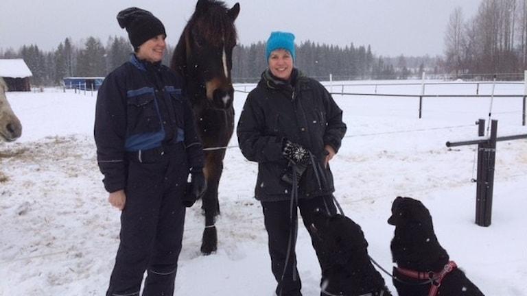 Kristina Lindholm och Lena Stenvall Psykiatriska kliniken Foto Åza Meijer