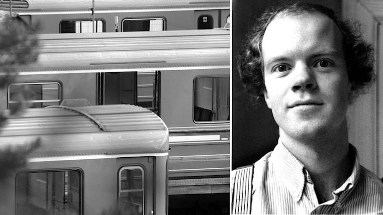 Arne Forsén från Umeå åkte tunnelbana med Olof Palme timmarna innan mordet. Montage: TT/Christer Landergren
