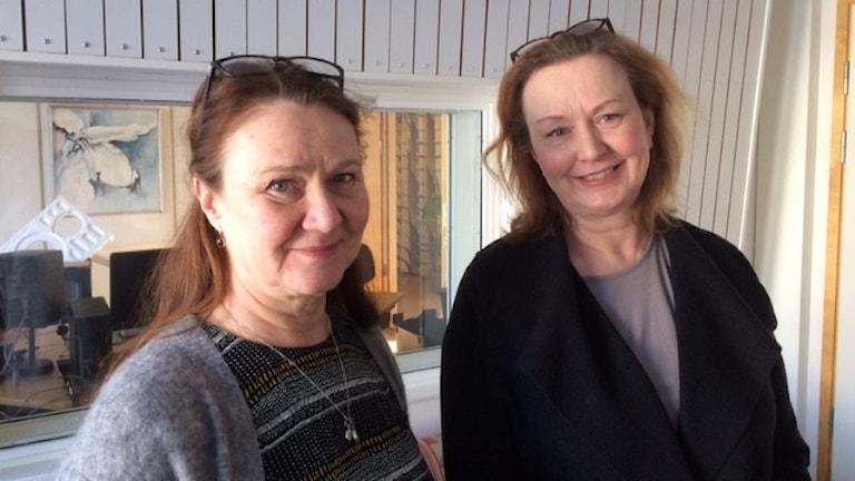 Anna Söderling och Margareta Niss Foto Åza Meijer
