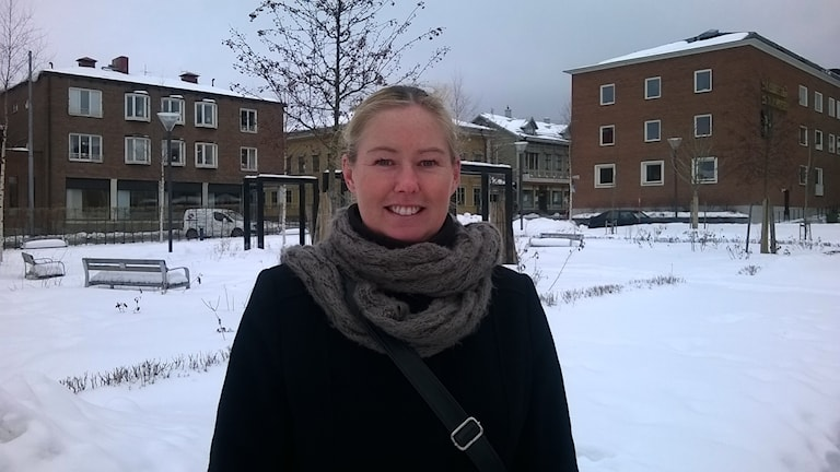 Linda Lundvall Säljchef i Skellefteå