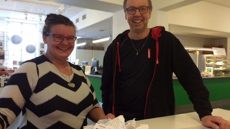 Mia Danielsson och Thomas Norström Foto Åza Meijer