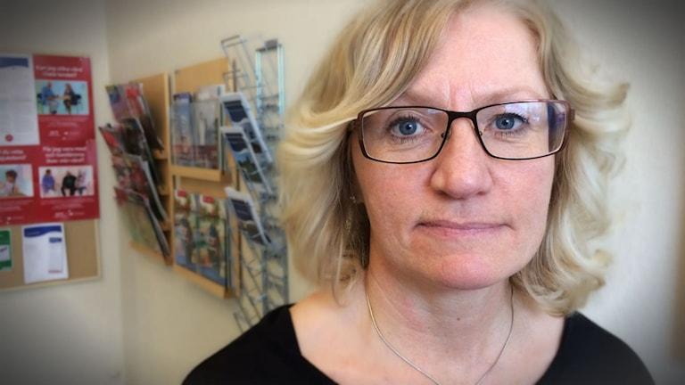 Therese Stenlund, forskningsansvarig på Stressrehabiliteringen i Umeå