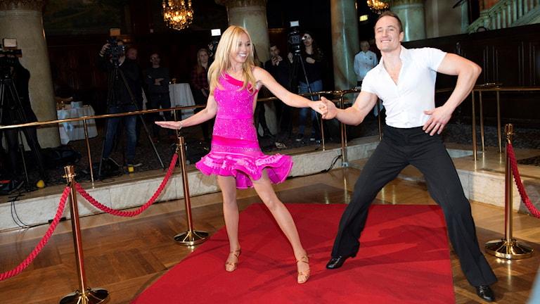 Linda Lindorff i Let´s Dance