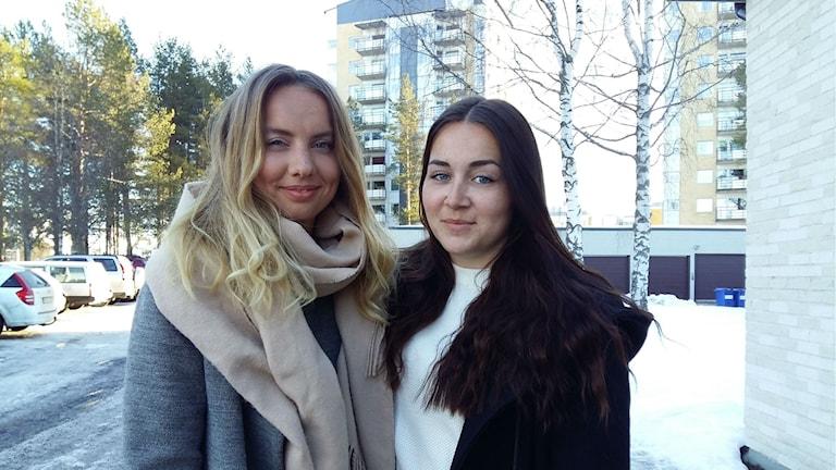 Alice Engman och Sanna Markström