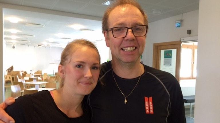 Marica Almfalk och Thomas Norström Foto Åza Meijer