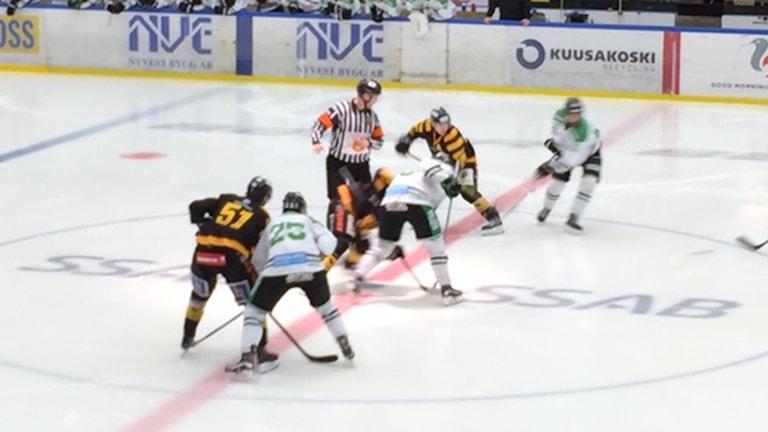 Skellefteå AIK J20 mot Rögle i JSM. Foto Gerhard Stenlund/SR
