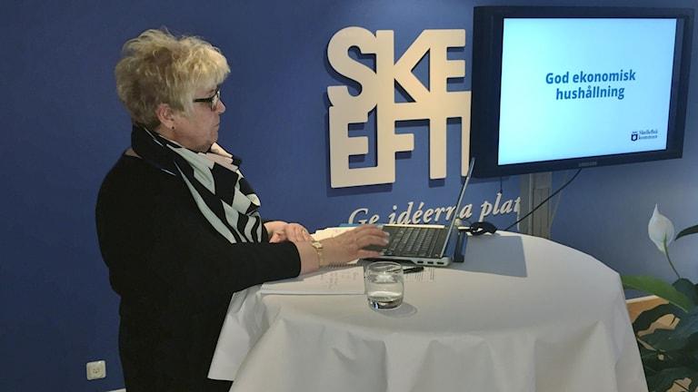 Maria Marklund Socialdemokratiskt kommunalråd Skellefteå