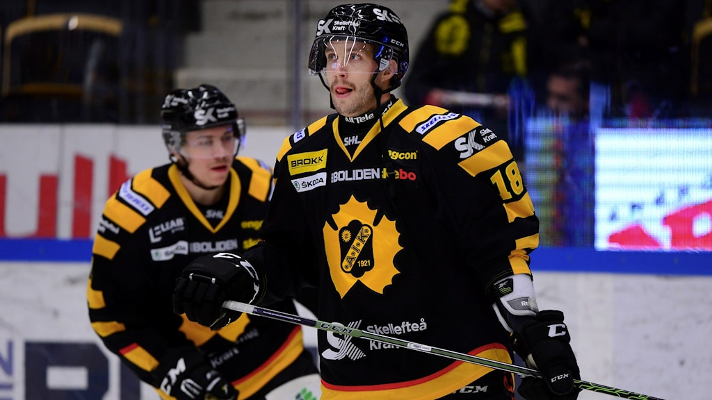 Pontus Petterström forward Skellefteå AIK