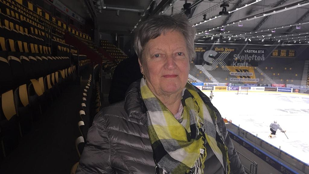 Gerd Lundström från Skellefteå