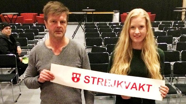 kim berglund o sofia edström målarförbundet foto Filippa Armstrong SR