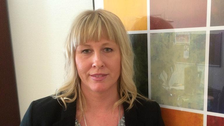 Louise Dahlberg, enhetschef på Migrationsverket i Umeå.