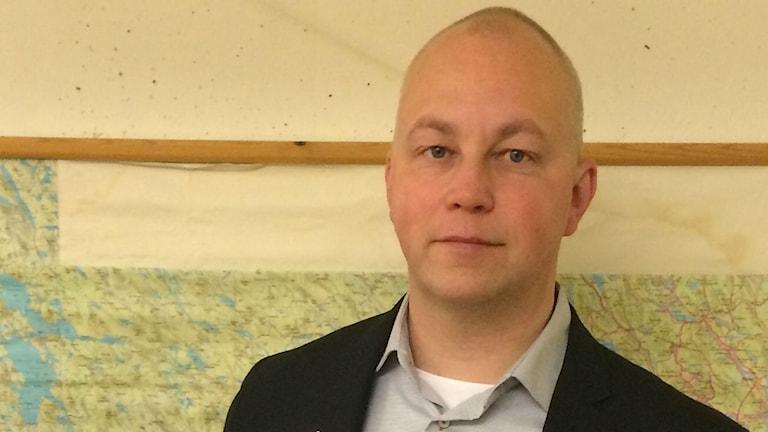 Jörgen Boman, kommunikationschef på Länstyrelsen i Västerbotten Foto: Filippa Armstrong/SR