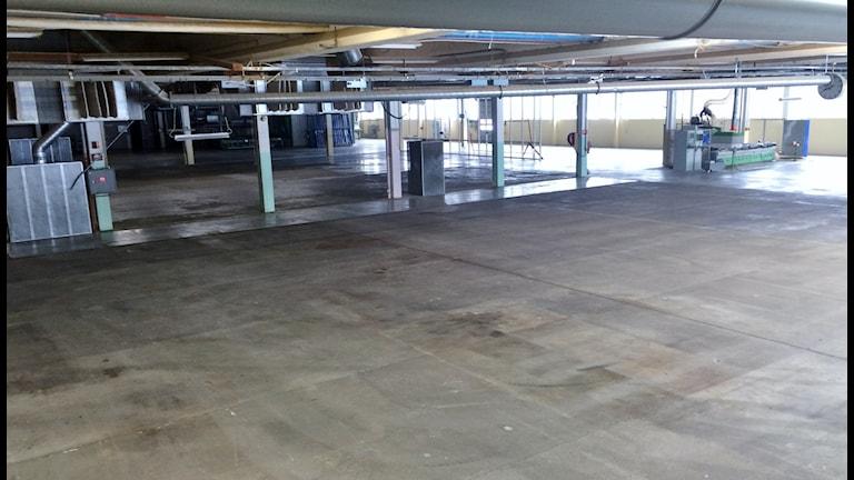 Inwidos 12 tusen kvadratmeter i Bjurtrsäk står nu tomma