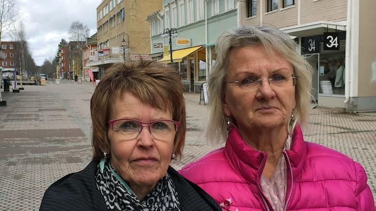 Irma Erlingsson och Carina Markusson