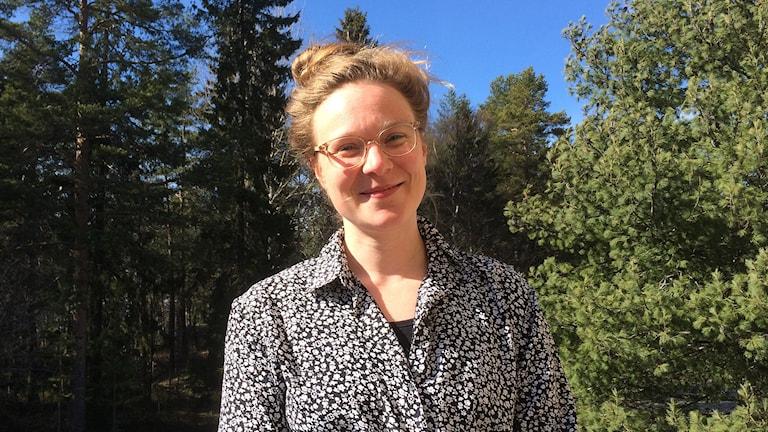 Viktoria Silfverdal. Foto: Peter Öberg, Sveriges Radio.
