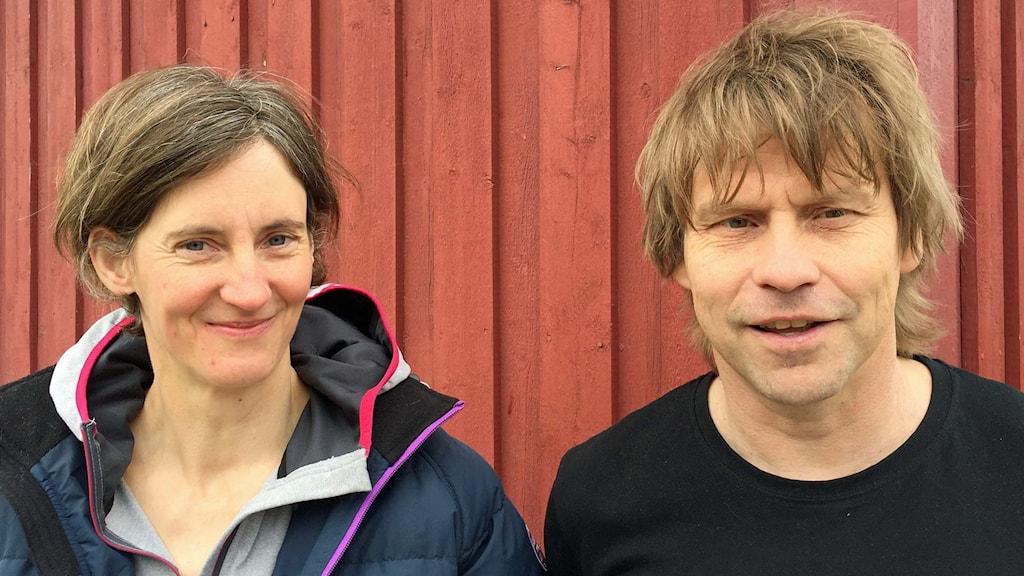 Ursula Neussel och Ingvar Näslund