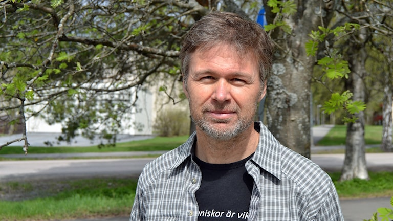 Stephan Stenmark, smittskyddsläkare. Foto: Peter Öberg, Sveriges Radio.