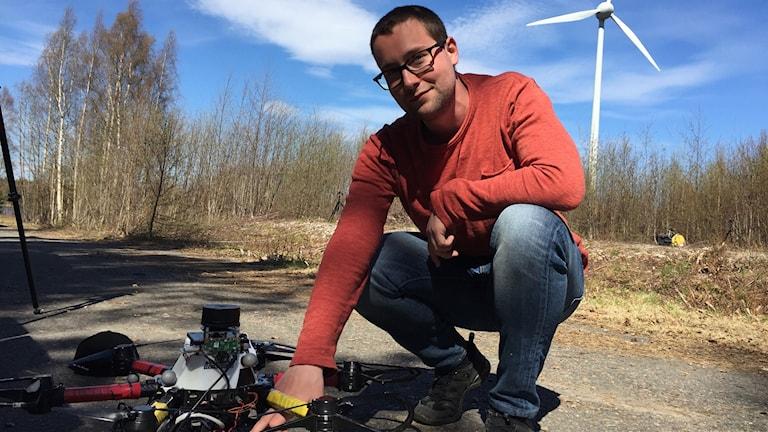 Emil Fresk, doktorand i robotik vid Luleå Tekniska Universitet