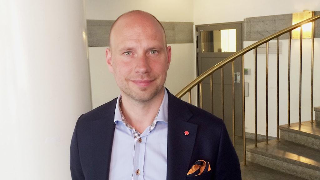 Hans Lindberg (S), kommunalråd i Umeå