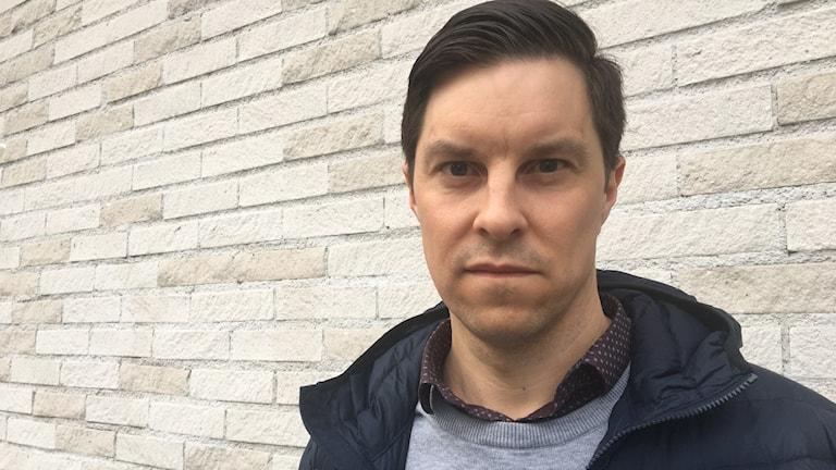Porträttbild av Jonas Nordin, regionchef på Företagarna i Västerbotten.