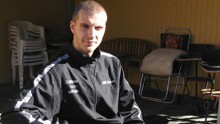 Mattias Wallgren IBK Dalen. Foto Cecilia Edström/SR.