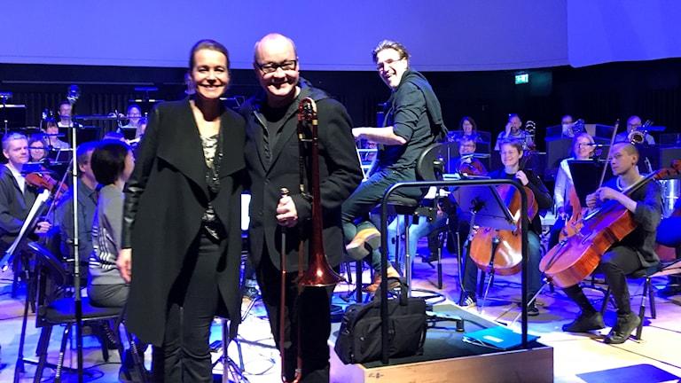 Nisse Landgren och Jeanette Köhn ger Trettondagskonserter tillsamman med Norrlandsoperans Symfoniorkester och Alexander Hanson som dirigent