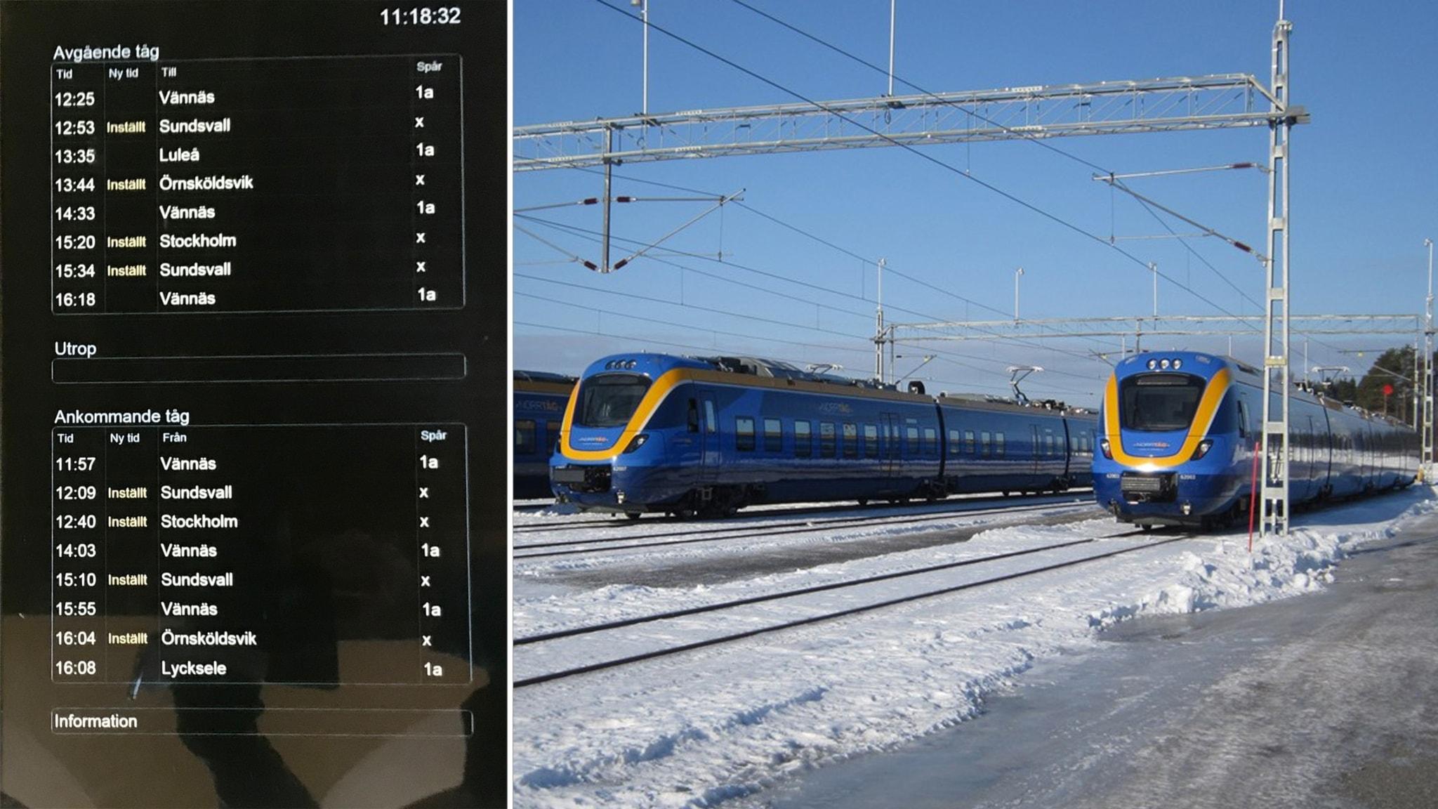 tåg sundsvall stockholm