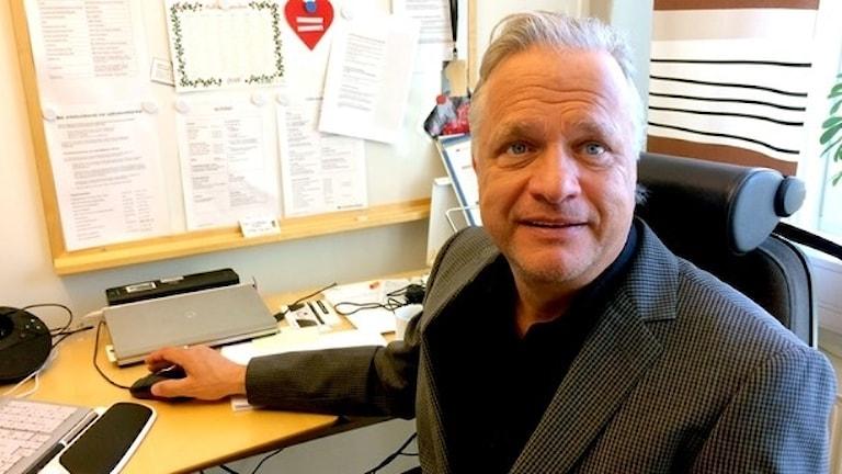Lars Lindström är nöjd med antalet sökande