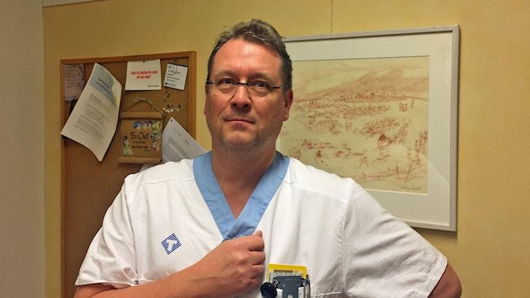 Verksamhetschefen för Diagnostiskt centrum Peter Thoren