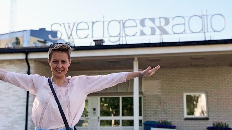 Anna-Karin Weanerlund, initiativtagare till en simskola för barn med hörselskador