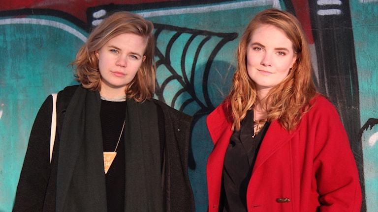 Filmtipsarna Anna Brodin och Miranda Larsson Foto: Pegah Zarassi