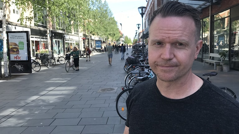 Tobias Eriksson, miljöinspektör i Umeå.