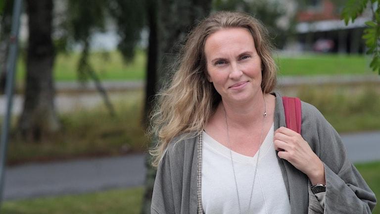 Maria Jönsson, universitetslektor vid institutionen för kultur-och medievetenskaper foto Emanuel Eriksson/Sveriges Radio