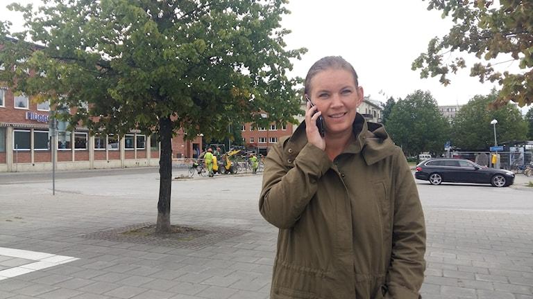 Hanna Hedlund, biträdande projektledare för Kulturhuset i Skellefteå