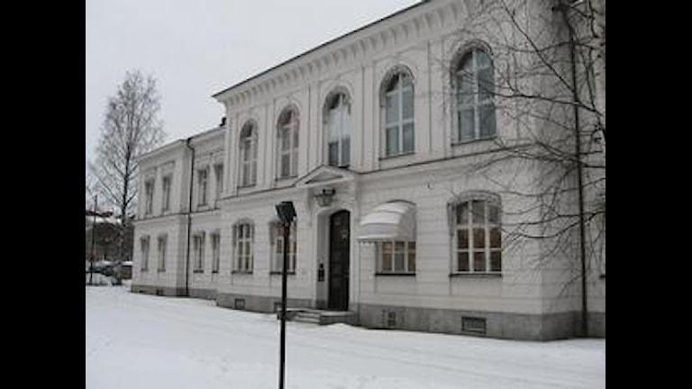 Hovrätten för övre Norrland, i Umeå. Arkivfoto: Peter Öberg/Sveriges Radio.