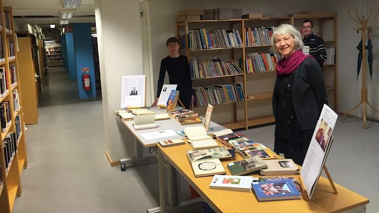 Umeås depåbibliotek och lånecentral.