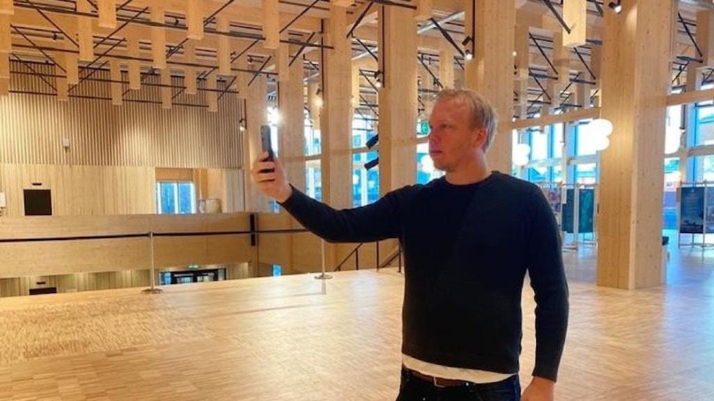 Fredrik Laurent, utvecklare på Accenture