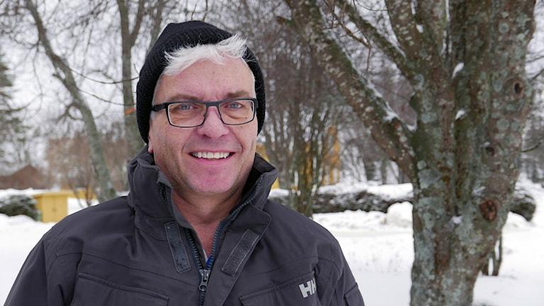 Göran Karlsson hemma i Botsmark.