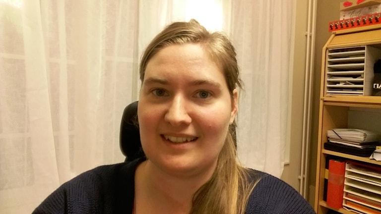 Marie Malmberg, ungdomsassistent på Athena fritidsgård