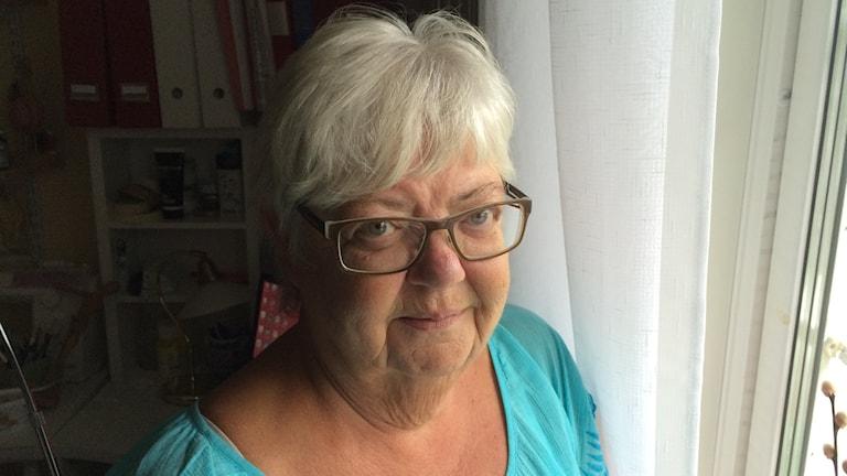 Eva Landin i Skelleftehamn.