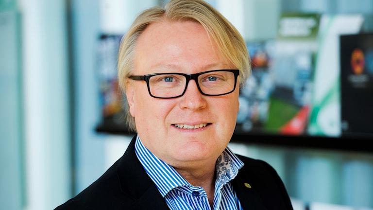 Lasse Holm, projektledare på TYA.