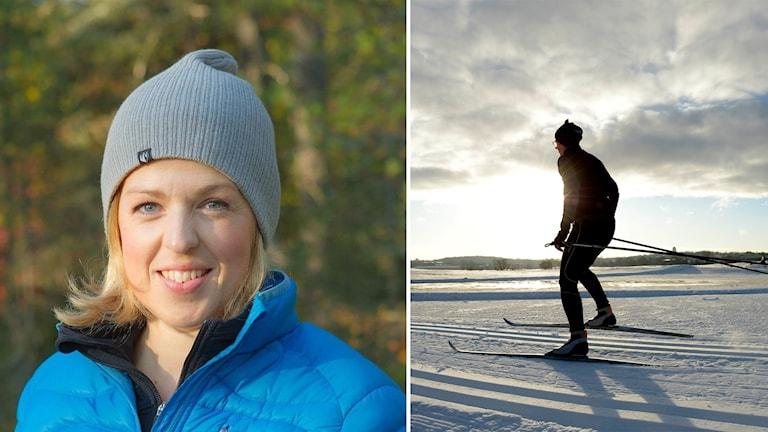 Som oerfaren skidåkare, som ändå vill prova på ett långlopp, är det viktgit att få hjälp med tekniken och att åka, åka och åka, säger personliga tränaren Linda Pettersson.