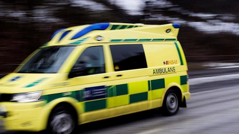 Arkivbild: Ambulans.