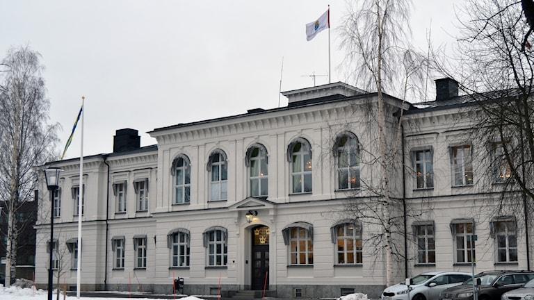 Hovrätten för övre Norrland. Foto: Peter Öberg, Sveriges Radio.