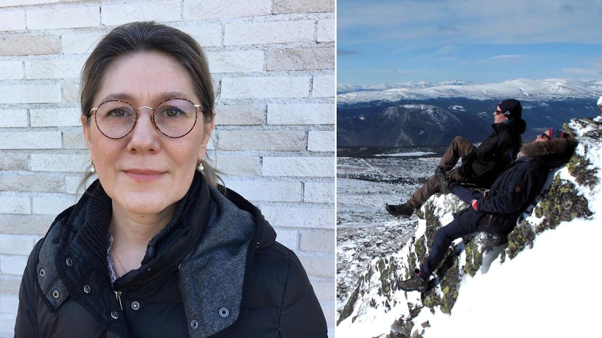 Det finns risker när solen möter vinterblek hud. Zinaida Bucharbajeva är hudläkare på Norrlands universitetssjukhus i Umeå.